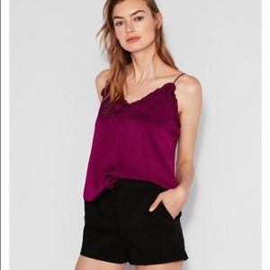 NWT Express Ruffle-Trim Downtown Cami
